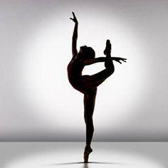 #Silhouette#Ballerina
