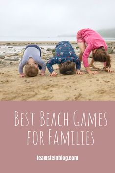 Best Beach Games for Families Beach Games, Beach Activities, Activities For Kids, Outdoor Activities, Beach Jar, Old Fashioned Games, Sand Writing, Welcome To The Group, Family Days Out