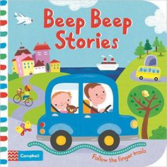 Beep Beep Stories (Follow the Finger Trails): Amazon.co.uk: Luana Rinaldo: 9781509808991: Books