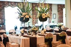 Hardscrabble Country Club Wedding Design:  Details Weddings & Events Photography:  Meredith Melody