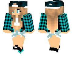 Gallery For > Minecraft Girl Skins With Red Hoodie