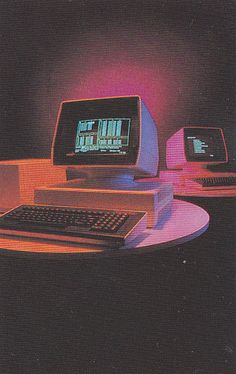 Find images and videos about vintage, grunge and aesthetic on We Heart It - the app to get lost in what you love. New Retro Wave, Retro Waves, Retro Art, Retro Vintage, Vintage Graphic, Alter Computer, Computer Art, Image Tumblr, Plakat Design
