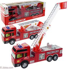 With a moveable ladder, these big fire trucks will delight any junior fireman. Rev this bad boy up and watch it race across the room. Each window boxed. Wholesale Toys, Wholesale Party Supplies, Disney Incredibles, Kids Army, Kids Motorcycle, Nerf Toys, Play Vehicles, Cute Stitch, Fire Engine