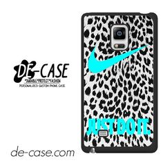Nike Leopard Just Do It DEAL-7908 Samsung Phonecase Cover For Samsung Galaxy Note Edge