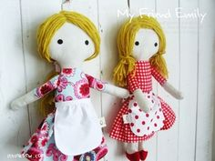 inspiration for more rag dolls