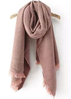 Pink Classic Tassel Scarves 13.00