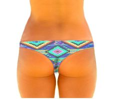 Cheeky Surf Lowrisers. 2nd Skin Bikinis, Brazil Cut.