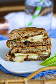 Gruyère, Apples & Fig Panini