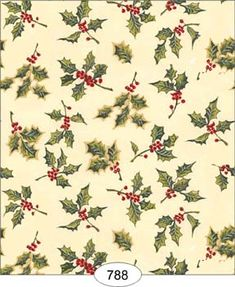 Wallpaper - Christmas - Holly - Dollhouses and Christmas Cards To Make, Christmas Paper, All Things Christmas, Winter Christmas, Vintage Christmas, Christmas Background, Christmas Wallpaper, Paper Background, Striped Background