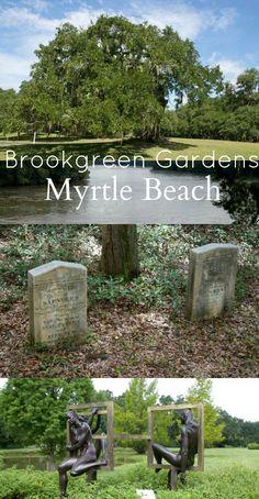 Myrtle Beach, South Carolina Attractions: Brookgreen Gardens