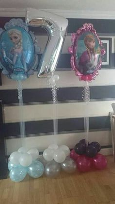 #frozen #theme #balloons