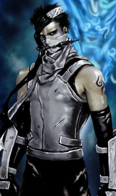 Zabuza Anbu style, renovated by the previous deviation, with the addition of details to give a better idea of the power of the ninja of the mist.