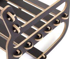 Rocking Chair easy chair #pin_it #design @mundodascasas See more here: www.mundodascasas.com.br