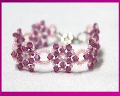 Beaded Crystals Cross Jewelry Making Tutorial by DIYJewelryMaking