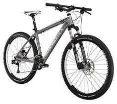 Diamondback Bicycles 2015 Axis Comp Hard Tail Complete Mountain Bike, 16-Inch/Small, Dark Silver/Black - http://www.bicyclestoredirect.com/diamondback-bicycles-2015-axis-comp-hard-tail-complete-mountain-bike-16-inchsmall-dark-silverblack/
