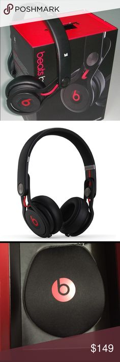 [Beats by Dr. Dre] Mixr David Guetta High definition performance headphones with remote & mic Beats by Dre Accessories