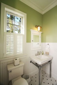 Coastal Cottage - traditional - powder room - jacksonville - Clausen Residential