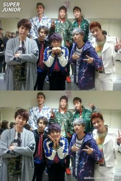 SUJU - M I love how Eunhyuk is being cool and then there's Ryeowook beside him being aegyo. lol
