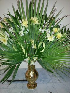 Palm Sunday arrangement