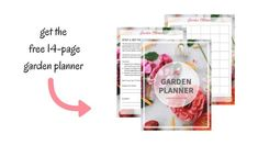 Get the Free 14-Page Garden Planner   Home for the Harvest