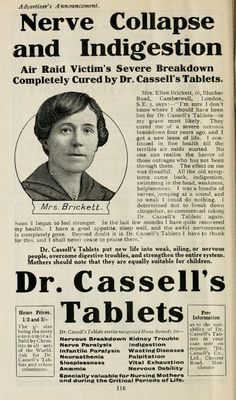 Avoiding the trickcyclist and the nutpicker: #WW1 home remedies and miracle cures - guest post by @shellshockedGB on the Quack Doctor blog