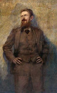 Newcombe: (the young) George Bernard Shaw.