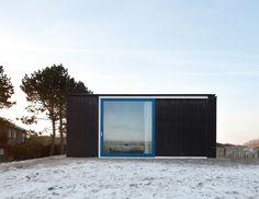 dierendonck blancke architects / house BRS. sliding door detail.