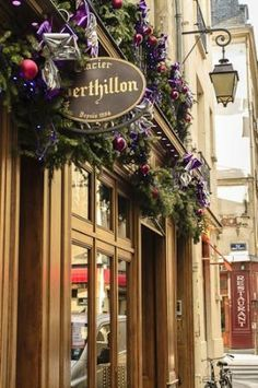 Berthillon on the Ile-St-Louis in Paris. The salted caramel ice cream is to DIE for! Bordain - Layover