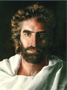 Prince of Peace Painting by Akiane Kramarik - Confirmed also by Colton Burpo a 4 year old boy who died and came back to share his meeting with Jesus in Heaven.