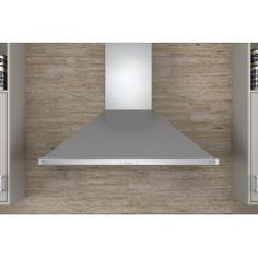 Zephyr Siena ES Series Wall Mount Chimney Range Hood with 400 CFM Internal Blower 3 Speed Icon Touch Controls Energy Star Certified ACT Technology and 6 Sones in Stainless Range Hood Reviews, Range Hoods, Stainless Range Hood, Stainless Steel, Chimney Range Hood, Wall Mount Range Hood, Led Light Strips, Home Repairs, Energy Star