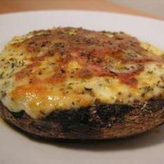 Low Carb Portabella Mushroom Pizza