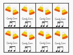 O For Tuna Orff: Sixteenth Note Halloween Cards Music Math, Music Classroom, Teaching Music, Art Music, Halloween Songs, Halloween Cards, Fall Halloween, Halloween Ideas, Orff Activities