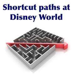 Whether you are a first-time visitor or a WDW veteran, here are a few shortcuts that you might find helpful during your next trip.