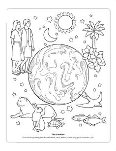 168 Best Sunday School Coloring Sheets images