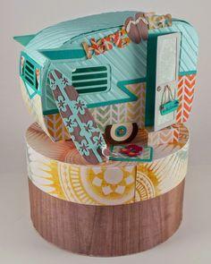 Sharas Paper Creations: Hang Ten Trailer Style