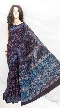 Indian Designer Sarees, Cotton Saree, Printed Cotton, Bohemian, Unique, Prints, Collection, Beautiful, Fashion