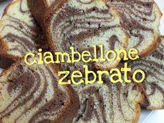 CIAMBELLONE ZEBRATO FATTO IN CASA DA BENEDETTA - Homemade Zebra Cake