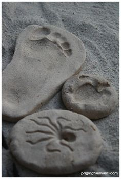 Homemade Sand Clay - Create, Bake & Keep your own handmade keepsakes!