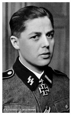 Gerardus Mooyman was a Dutch Waffen SS volunteer and the first non-German to be decoarted with the Knight's Cross. He received the medal for destroying 13 Russian tanks in one go. Mooyman survived the war and was ironically killed in a car accident in 1987.