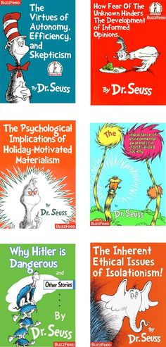 What Dr. Seuss books were really about...