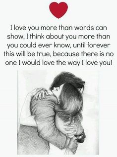 i love you more than anything in my life images will express your lovely dovely emotions and most inspirational deep love quotes for him or her brings up all kinds of additional emotions in a cute way. Cute Love Quotes, Heart Touching Love Quotes, Soulmate Love Quotes, Love Husband Quotes, Love Quotes With Images, Love Quotes For Her, Love Yourself Quotes, Qoutes About Love, Quotes For Loved Ones