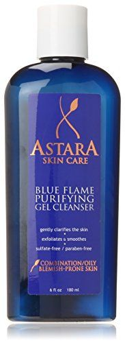 Astara Blue Flame Purifying Gel Cleanser 6 Fluid Ounce >>> Check out this great product.