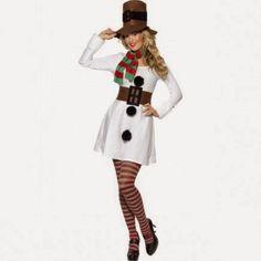 Disfraz de Muñeco de Nieve Mujer   Disfraces Originales