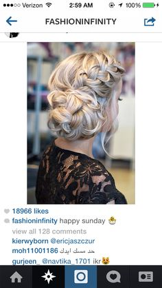 Hair styles for wedding maybe?