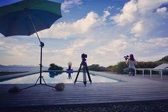 Making of - Day one. 🙏 #makingof #behindthescenes #startyoganow #yoga #mallorca #work #lovemyjob #location #photography #sky #clouds #famousbtsmagazine #junala #photographer @bereniceyoga