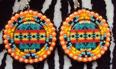 Beaded Earrings Native, Native Beadwork, Native American Beadwork, Seed Bead Earrings, Beaded Jewelry, Jewellery, Brick Stitch Earrings, Beadwork Designs, Beading Techniques