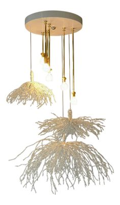 Shop pendant lighting at Chairish, the design lover's marketplace for the best vintage and used furniture, decor and art. Wood Pendant Light, Pendant Chandelier, Pendant Lighting, Organic Form, Lampshades, Candelabra, Home Lighting, Contemporary Furniture, Industrial Style
