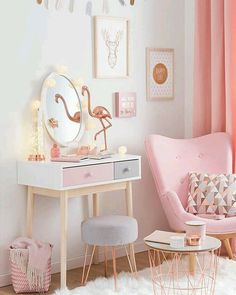 Copper And Blush Home Decor Ideas Pretty In Pink Bedroom Palette . - Copper and blush home decor ideas Pretty In Pink Bedroom Palette pretty room decor – Diy Decora - Deco Rose, Girl Bedroom Designs, Bedroom Design For Teen Girls, Girs Bedroom Ideas, Bedroom Decor For Teen Girls Dream Rooms, Room Ideas For Teen Girls Diy, Diy Home Decor Bedroom Girl, Tween Girls, Girl Bedroom Decorations
