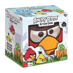 Angry Birds Action Game. It's the game most children like. Now, they can play it live, not in gadget...