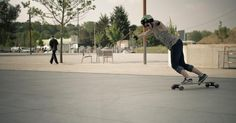 Alice front stand up Longboard girls crew France